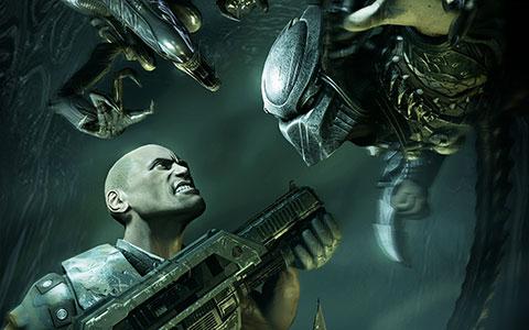 Aliens vs Predator (Xbox360) MP3 - Download Aliens vs ...  |Alien Vs Predator Xbox 360 Wallpaper