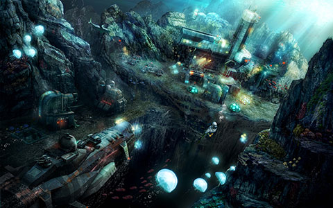Anno 2070 - Deep Ocean desktop wallpaper or background 01
