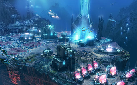 Anno 2070 - Deep Ocean desktop wallpaper or background 02