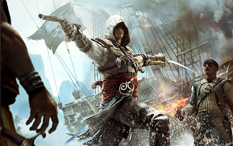 Assassin's Creed 4: Black Flag desktop wallpaper or background 02