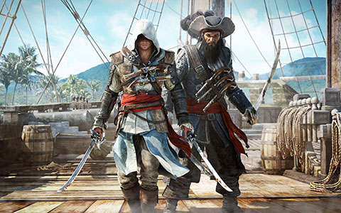 Assassin's Creed 4: Black Flag desktop wallpaper or background 08