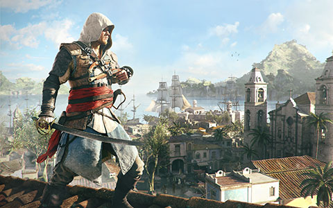 Assassin's Creed 4: Black Flag desktop wallpaper or background 14