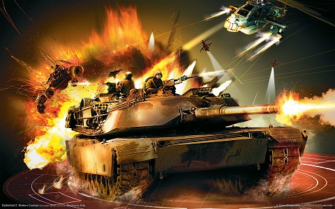 battlefield 2 wallpaper. Battlefield 2: Modern Combat