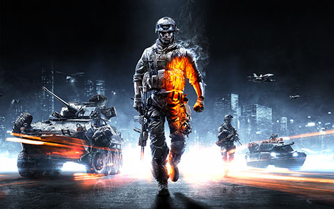 Battlefield 3 desktop wallpaper or background 01