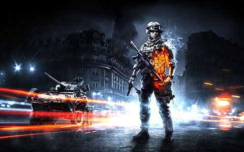 Battlefield 3 desktop wallpaper or background 02