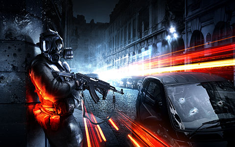 Battlefield 3 desktop wallpaper or background 03