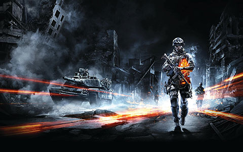 Battlefield 3 desktop wallpaper or background 09