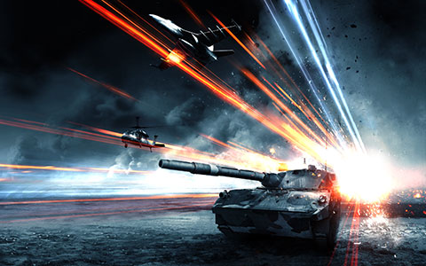 Battlefield 3: Armored Kill desktop wallpaper or background 01