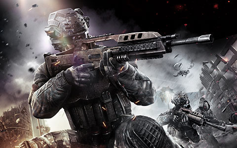 Call of Duty: Black Ops 2 desktop wallpaper or background 06
