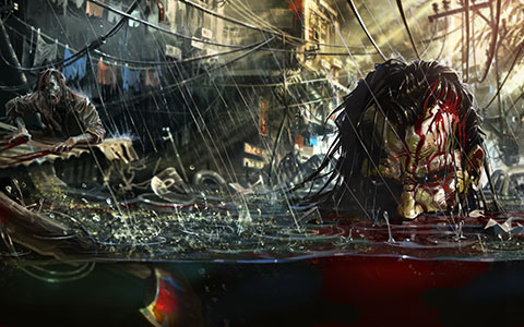 Dead Island Riptide desktop wallpaper or background 04