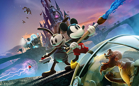 Disney Epic Mickey 2: The Power of Two desktop wallpaper or background 01