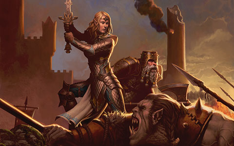 Dungeons & Dragons: Neverwinter desktop wallpaper or background 01