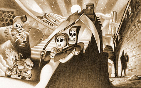 Grim Fandango Remastered wallpaper or background