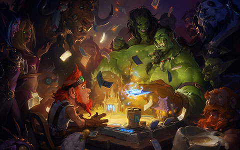 Hearthstone: Heroes of Warcraft desktop wallpaper or background 04