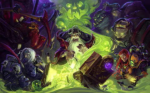 Hearthstone: Heroes of Warcraft desktop wallpaper or background 08