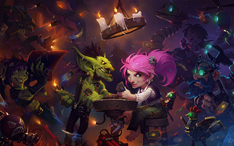 Hearthstone: Heroes of Warcraft desktop wallpaper or background 10