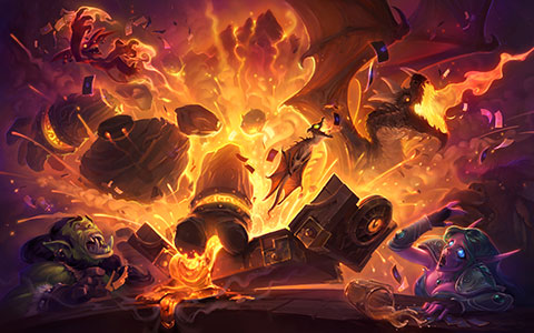 Hearthstone: Heroes of Warcraft desktop wallpaper or background 11