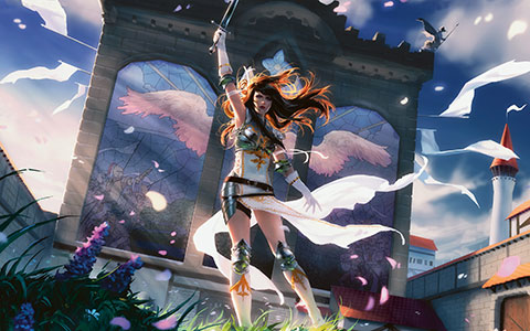 Magic: The Gathering - Duels of the Planeswalkers 2013 desktop wallpaper or background 01