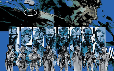 wallpapers guns. Metal Gear Solid 4: Guns of