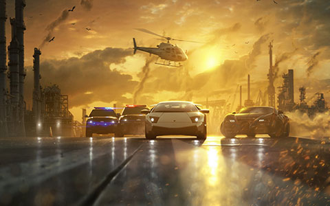 Need for Speed - Most Wanted desktop wallpaper or background 09