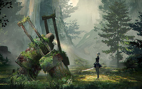 Nier New Project wallpaper or background