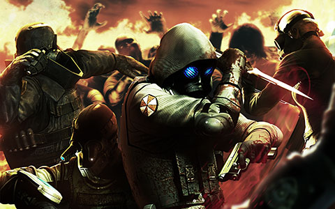 Resident Evil: Operation Raccoon City desktop wallpaper or background 01