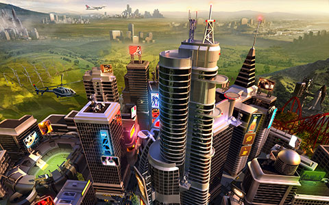 SimCity desktop wallpaper or background 03