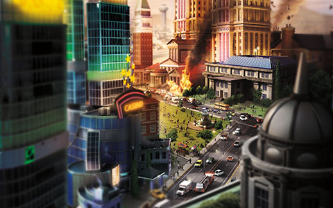SimCity desktop wallpaper or background 04
