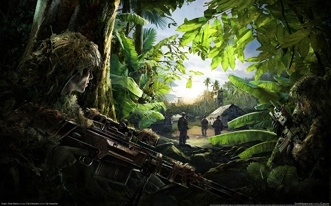 Sniper: Ghost Warrior desktop wallpaper or background 01