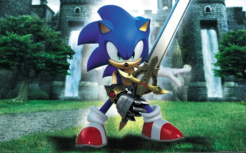 wallpapers sonic. Sonic amp; The Black Knight