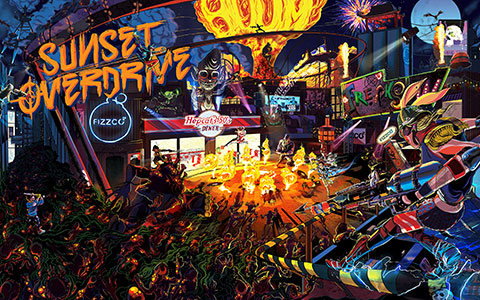 Sunset Overdrive wallpaper or background