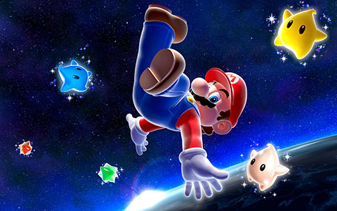 galaxy wallpapers. Super Mario Galaxy wallpapers