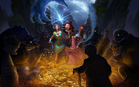 The Book of Unwritten Tales 2 wallpaper or background