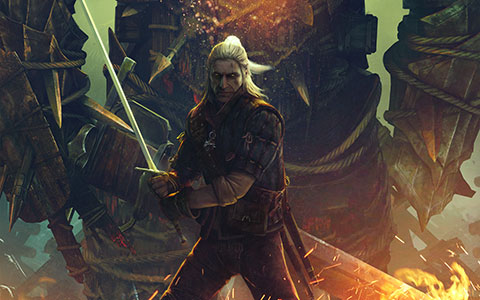 The Witcher 2: Assassins of Kings desktop wallpaper or background 07