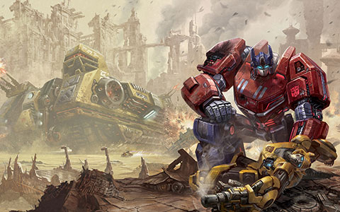Transformers: Fall of Cybertron desktop wallpaper or background 01