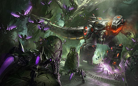 Transformers: Fall of Cybertron desktop wallpaper or background 02