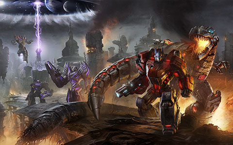 Transformers: Fall of Cybertron desktop wallpaper or background 03