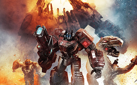 Transformers: Fall of Cybertron desktop wallpaper or background 05