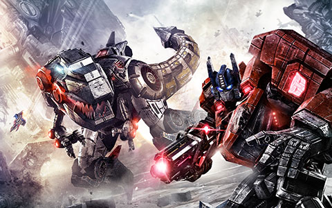 Transformers: Fall of Cybertron desktop wallpaper or background 06