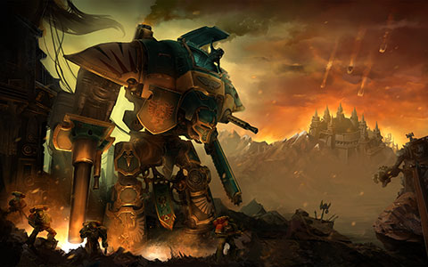 Warhammer 40.000: Freeblade wallpaper or background