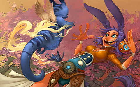 WildStar desktop wallpaper or background 01