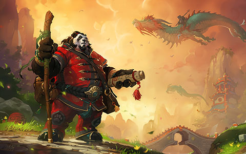 World of Warcraft: Mists of Pandaria desktop wallpaper or background 06