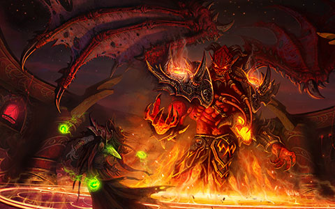World of Warcraft: The Burning Crusade desktop wallpaper or background 11