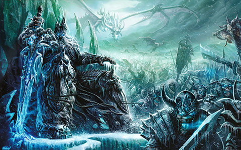 World of Warcraft: Wrath of the Lich King desktop wallpaper or background 03
