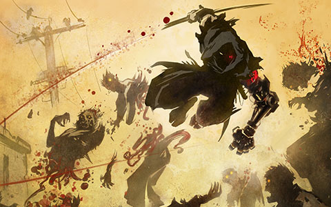 Yaiba: Ninja Gaiden Z desktop wallpaper or background 01