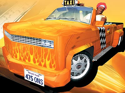wallpaper crazy. Crazy Taxi 3: High Roller