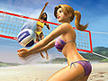 Summer Heat Beach Volleyball wallpaper or background