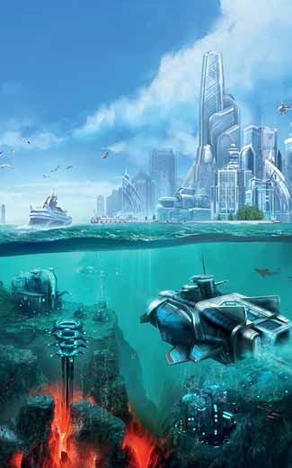 Anno 2070 - Deep Ocean mobile wallpaper or background 03