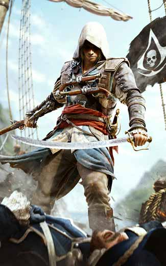 Assassin's Creed 4: Black Flag mobile wallpaper or background 06