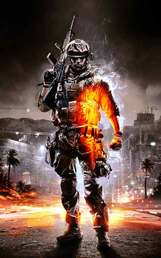 Battlefield 3 mobile wallpaper or background 08